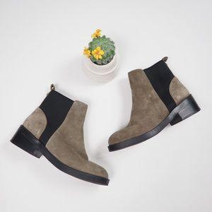 Steve Madden Grroupie Suede Slip On Boots Size 7.5